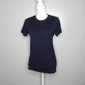 everlane women black T-shirt supima cotton  SZ S
